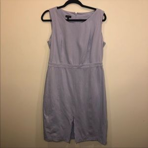 Talbots Sleeveless Lavendar Midi Dress